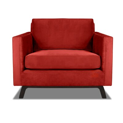 Prospect Armchair Upholstery: Red