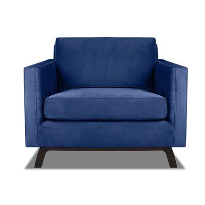 Prospect Armchair Upholstery: Blue
