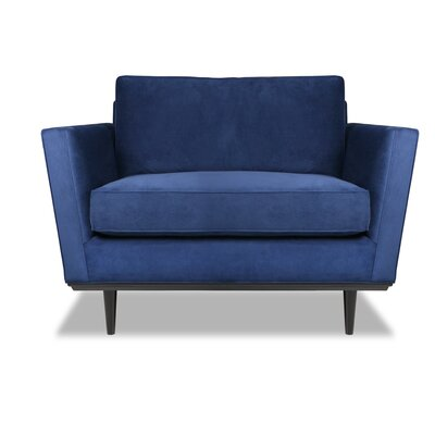 Provincial Armchair Upholstery: Blue