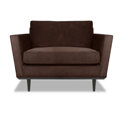 Provincial Armchair Upholstery: Espresso