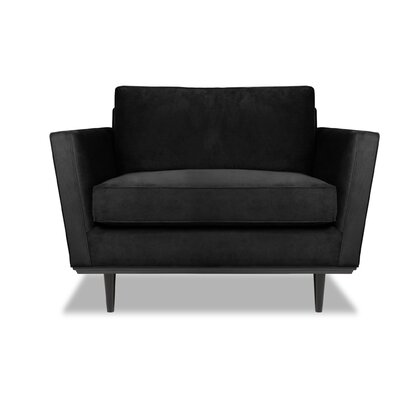 Provincial Armchair Upholstery: Black