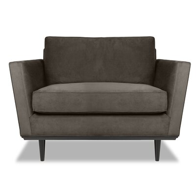 Provincial Armchair Upholstery: Charcoal