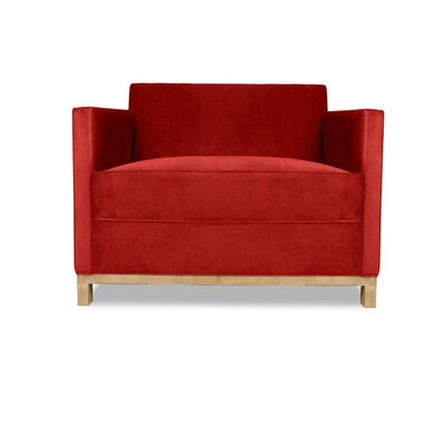 Kuhn Armchair Upholstery: Red