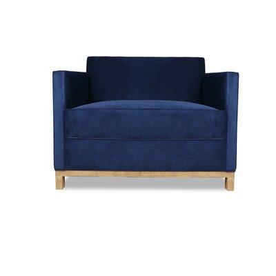 Kuhn Armchair Upholstery: Blue