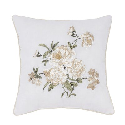 Kopf Embroidered Throw Pillow