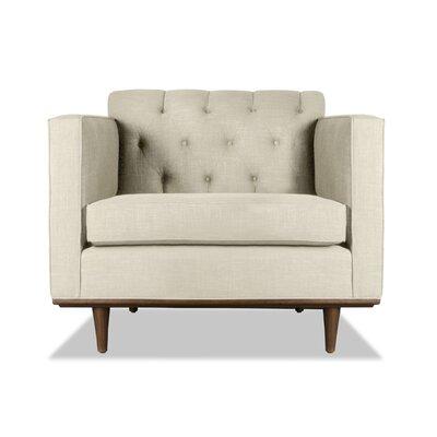 Puckett Armchair Upholstery: Sand