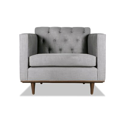 Puckett Armchair Upholstery: Grey
