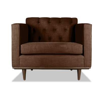 Puckett Armchair Upholstery: Brown