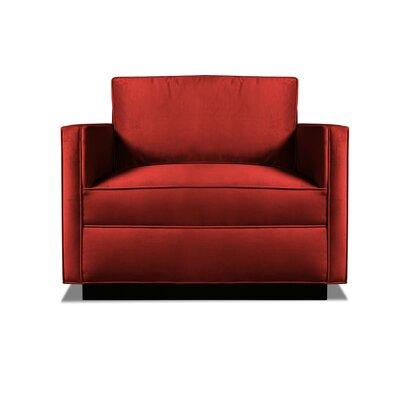 Pueblo Armchair Upholstery: Red