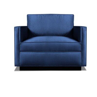 Pueblo Armchair Upholstery: Blue