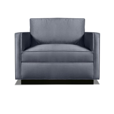 Pueblo Armchair Upholstery: Pewter