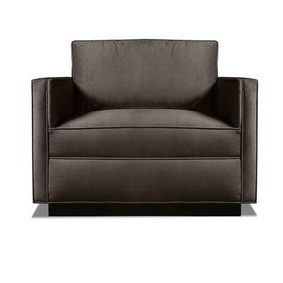 Pueblo Armchair Upholstery: Charcoal