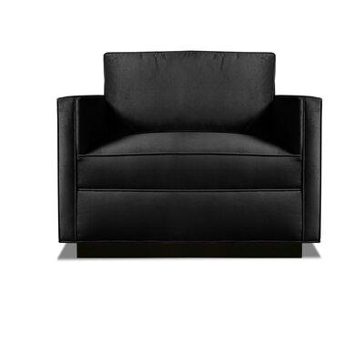 Pueblo Armchair Upholstery: Black