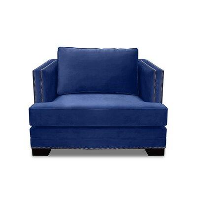 Lecroy Armchair Upholstery: Blue