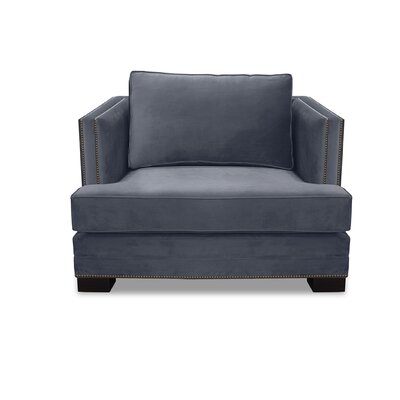 Lecroy Armchair Upholstery: Pewter