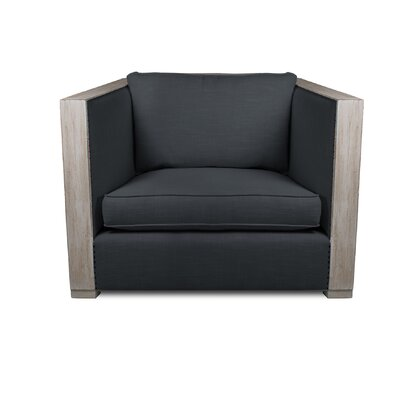 Lecuyer Armchair Upholstery: Charcoal