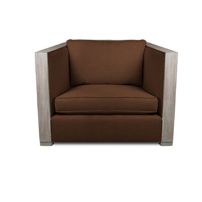 Lecuyer Armchair Upholstery: Brown