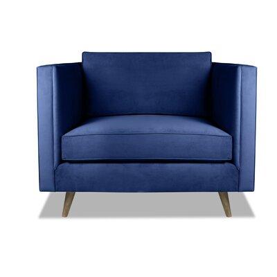 Pullman Armchair Upholstery: Blue