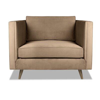 Pullman Armchair Upholstery: Latte
