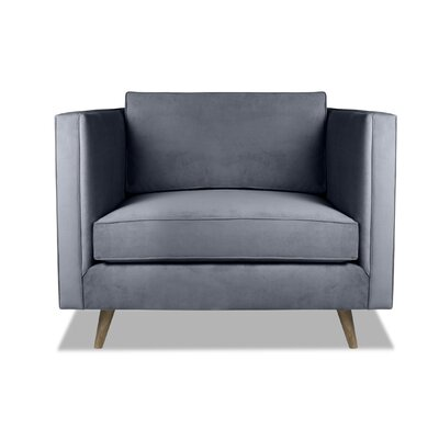 Pullman Armchair Upholstery: Pewter