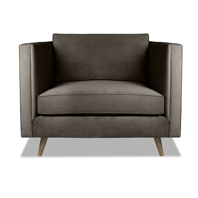 Pullman Armchair Upholstery: Charcoal