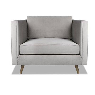 Pullman Armchair Upholstery: Smoke