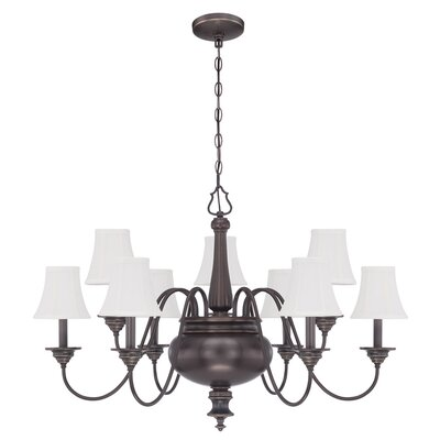 Embree 9-Light Candle Style Chandelier