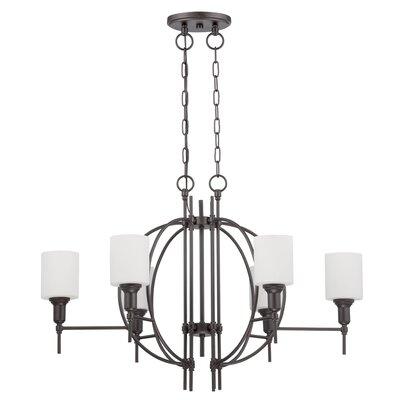 Venilale 6-Light Candle Style Chandelier