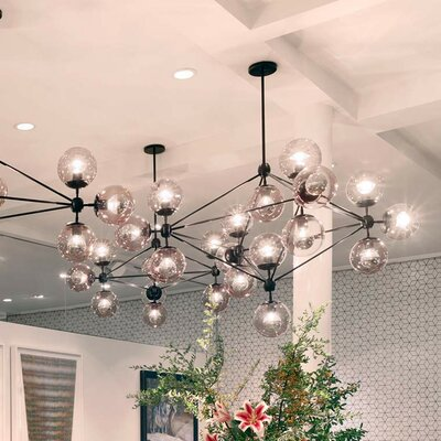 Firkins LED Sputnik Chandelier