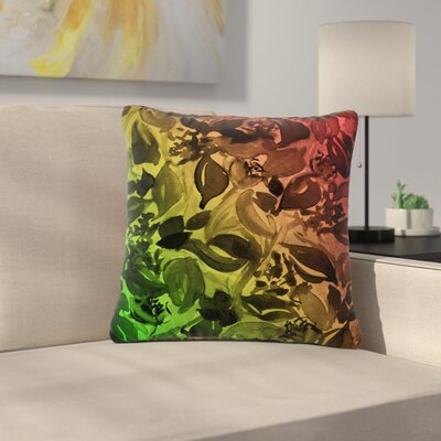 Ebi Emporium Blossoms Unchained 3 Outdoor Throw Pillow Size: 16 H x 16 W x 5 D