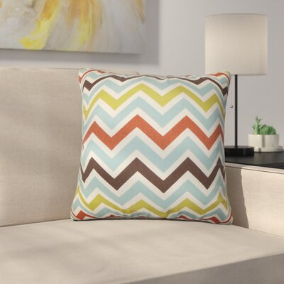 Rudd Zigzag Cotton Throw Pillow