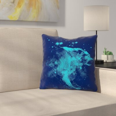 Predation Instinct II by Frederic Levy-Hadida Throw Pillow Size: 18 H x 18 W x 3 D