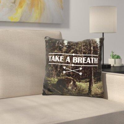 Manriquez Take a Breath Throw Pillow