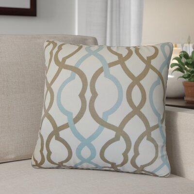 Mykah Geometric Cotton Throw Pillow
