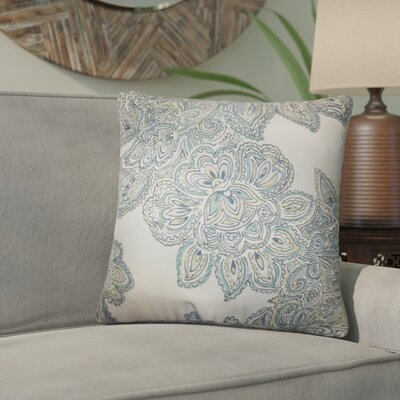 Rainey Street Floral Throw Pillow Color: Sea Green