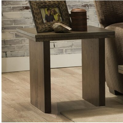 Coderre End Table Color: Distressed Oak