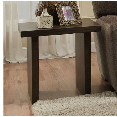 Coderre End Table Color: Distressed Walnut