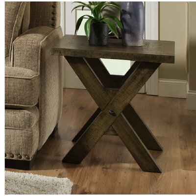 Mayne End Table Color: Distressed Oak