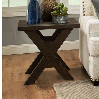 Mayne End Table Color: Distressed Walnut