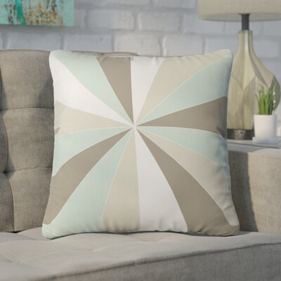 Ament Champagne Outdoor Throw Pillow Size: 16 H x 16 W x 4 D