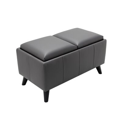 Oshields Convertible Ottoman Finish: Gray