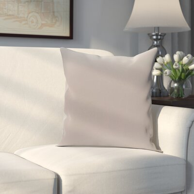 Georgia Outdoor Throw Pillow Color: Classic Gray, Size: 16 H x 16 W x 1 D
