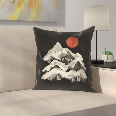 Moon Lake Throw Pillow Size: 20 x 20