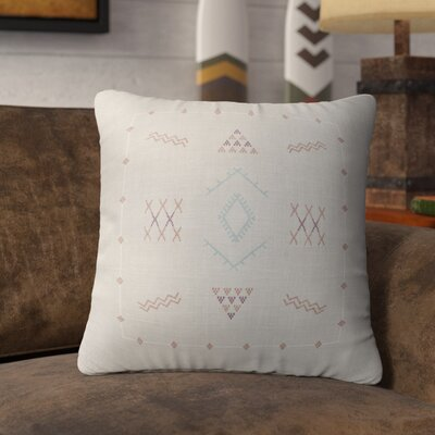 Rogers Accent Throw Pillow Color: Grey, Size: 24 x 24