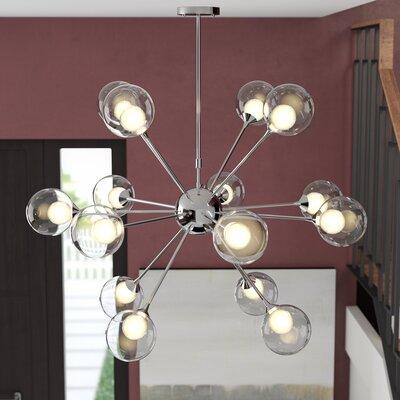 Trey 15-Light LED Sputnik Chandelier