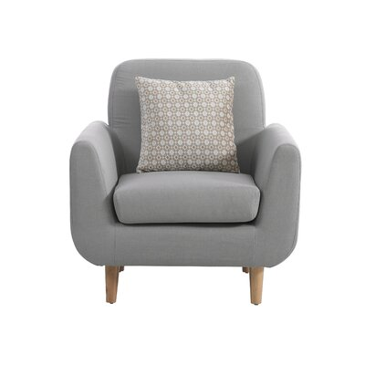 Cuevas Armchair Upholstery: Dark Gray