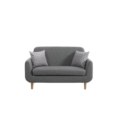 Corson Loveseat Upholstery: Biege