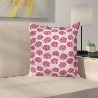 Modern Floral Pillow Cover Size: 24 x 24