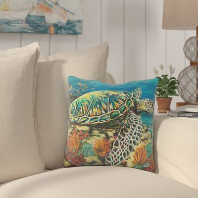 Graybridge Deep Sea Swimming Throw Pillow