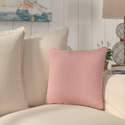 Halina Throw Pillow Size: 20 H x 20 W x 6 D, Color: Magenta